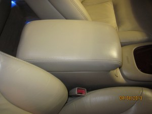 Leather Repair In Lexus After